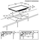 AEG HDM55108FB inductie kookplaat_