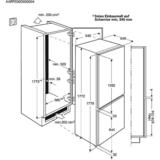 AEG koelvriescombinatie SCB51811LS_