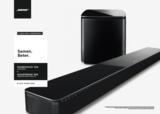 Bose Soundtouch 300 soundbar + Acoustimass 300 wireless bass module_
