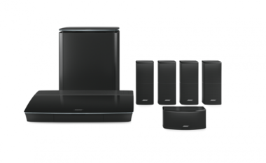 Bose Lifestyle 600 home cinema system Zwart