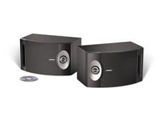 Bose 201® Direct/Reflecting®-luidspreker zwart SET