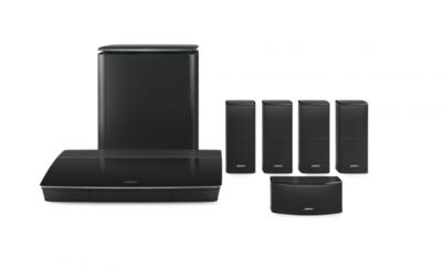 Bose Lifestyle 600 home cinema system Zwart