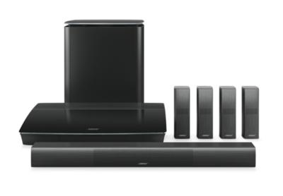 Bose Lifestyle 650 home entertainment system Zwart
