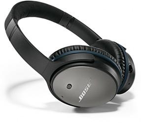 Bose QuietComfort 25 voor Apple (Zwart)