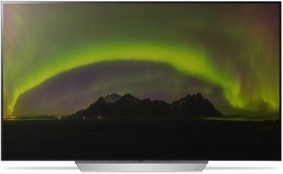 LG OLED55C7V + T8 Bracket + SJ8 Soundbar