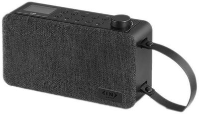 Tiny Audio Joy DAB+ Zwart
